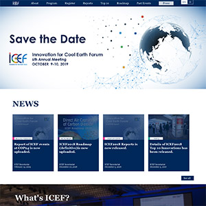 Innovation for Cool Earth Forum (ICEF)